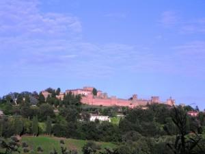 Castello di Gradara all'alba