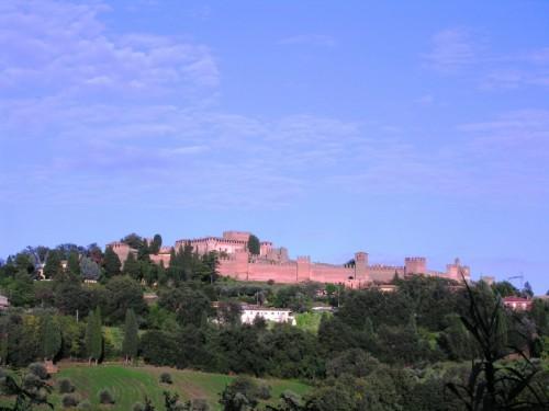 Gradara - Castello di Gradara all'alba