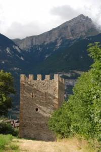 La torre da un altro punto di vista