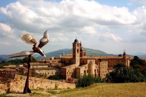 Urbino - panorama della città