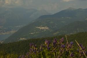 """Panorama delle """"tre"""" Ponna (inferiore - di mezzo - superiore)"""