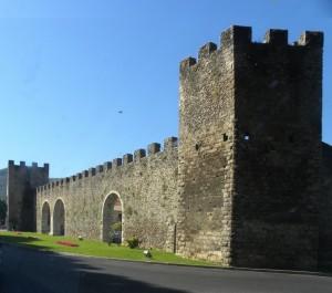 Le mura della città di Rieti