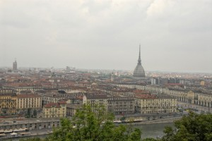 Panoramica di Torino