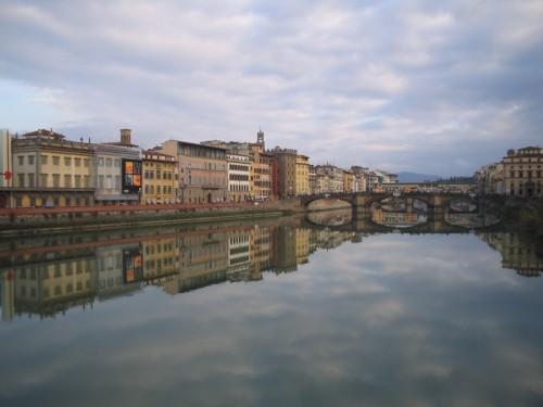 Firenze - triste allo specchio