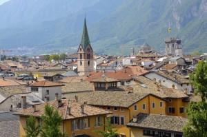 Le torri e i campanili di Trento