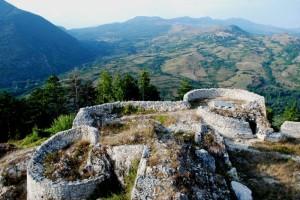 Ruderi del castello di Castel di Sangro