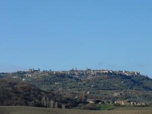 panorama con il suo maestoso castello,e i molti campanili