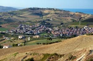 Borgo Santa Maria Immacolata: 25 metri sopra il mare!