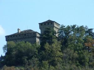 il castello di Montestutto più da vicino
