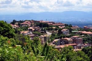 Canepina Vista dalla Montagna