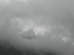 paesaggio Dolomiti, da Vigo di Fassa