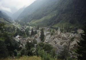 panorama di Carcoforo, alta Val Sesia