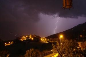 Fulmini e tempesta in arrivo…