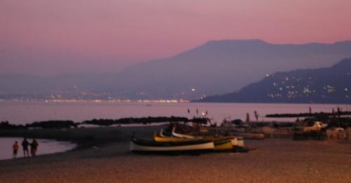 Ventimiglia - Tramonto sulle vacanze....