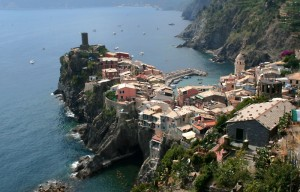 Vernazza, panorama