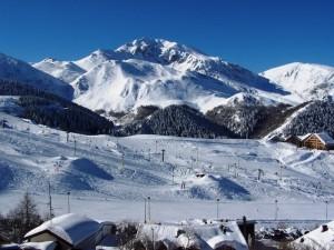 Il Monte Mondolè d'inverno