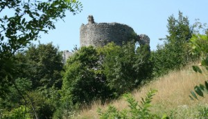Quel che rimane del castello di Cordignano…