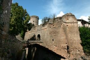 La Rocca dei Borgia e mura di Nepi