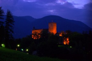 Il castello by night