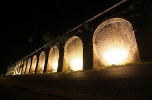 Le mura di notte