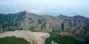 Monte Somma con Somma Vesuviana