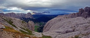 View from Refugio Cavazza