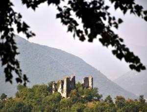 Solofra - castello diroccato