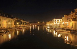 Peschiera by night