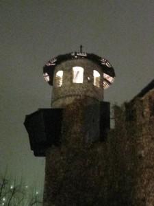 Vista della Rocca Medievale di Torino
