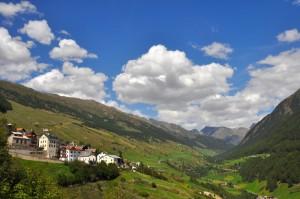 Panorama della Val Mazia