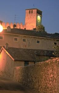 Particolare del Castello di Monzambano