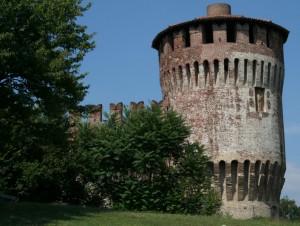 Rocca di Soncino - una torre
