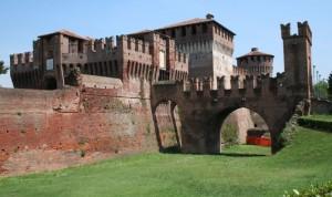Rocca di Soncino, ovest