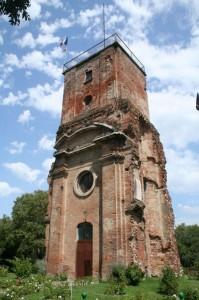 La torre del castello di Tortona