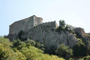 Il castello…..da lontano