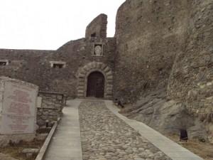 scorcio del castello di Squillace