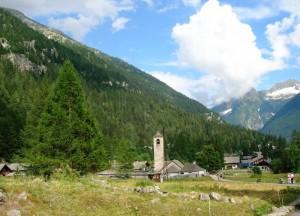 Dorf e chiesa vecchia