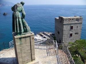 Monterosso - Torre Aurora dal Convento dei Francescani