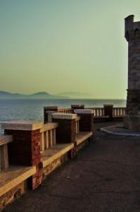 Panorama da Piombino all'Isola d'Elba