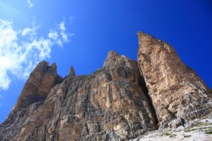 le tre cime…. protese verso il cielo