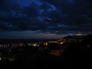 Tramonto a Sanremo
