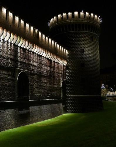 Milano - Sera di settembre al castello