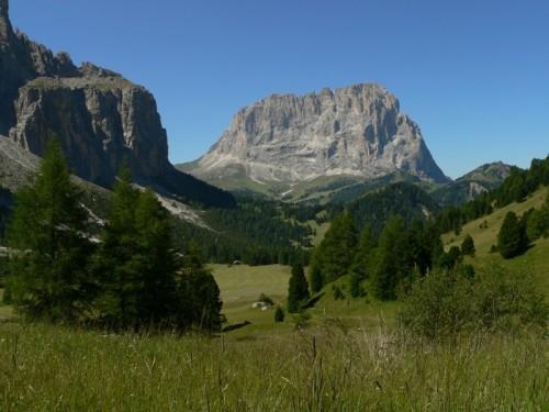 Corvara in Badia - Panorama gruppo Sella
