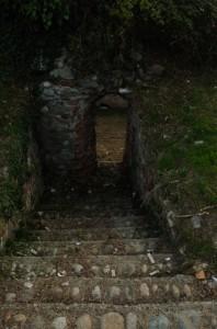 L'accesso al castello