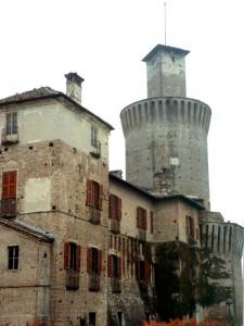 Il castello di Sartirana Lomellina