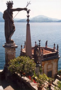 Isola Bella - Vista sul Lago Maggiore dal Palazzo Borromeo