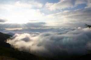 …oltre le nuvole…