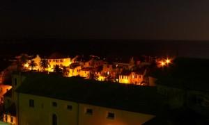 Il borgo di Laigueglia di notte