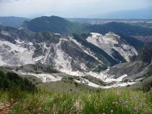 Carrara - cave di marmo