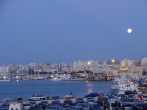 Gallipoli by night